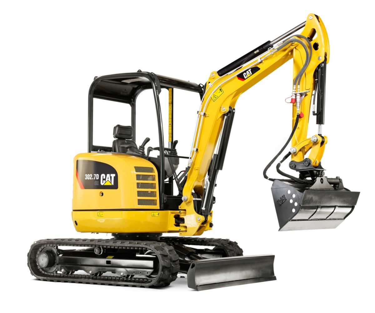 302.7D CR Mini Hydraulic Excavator